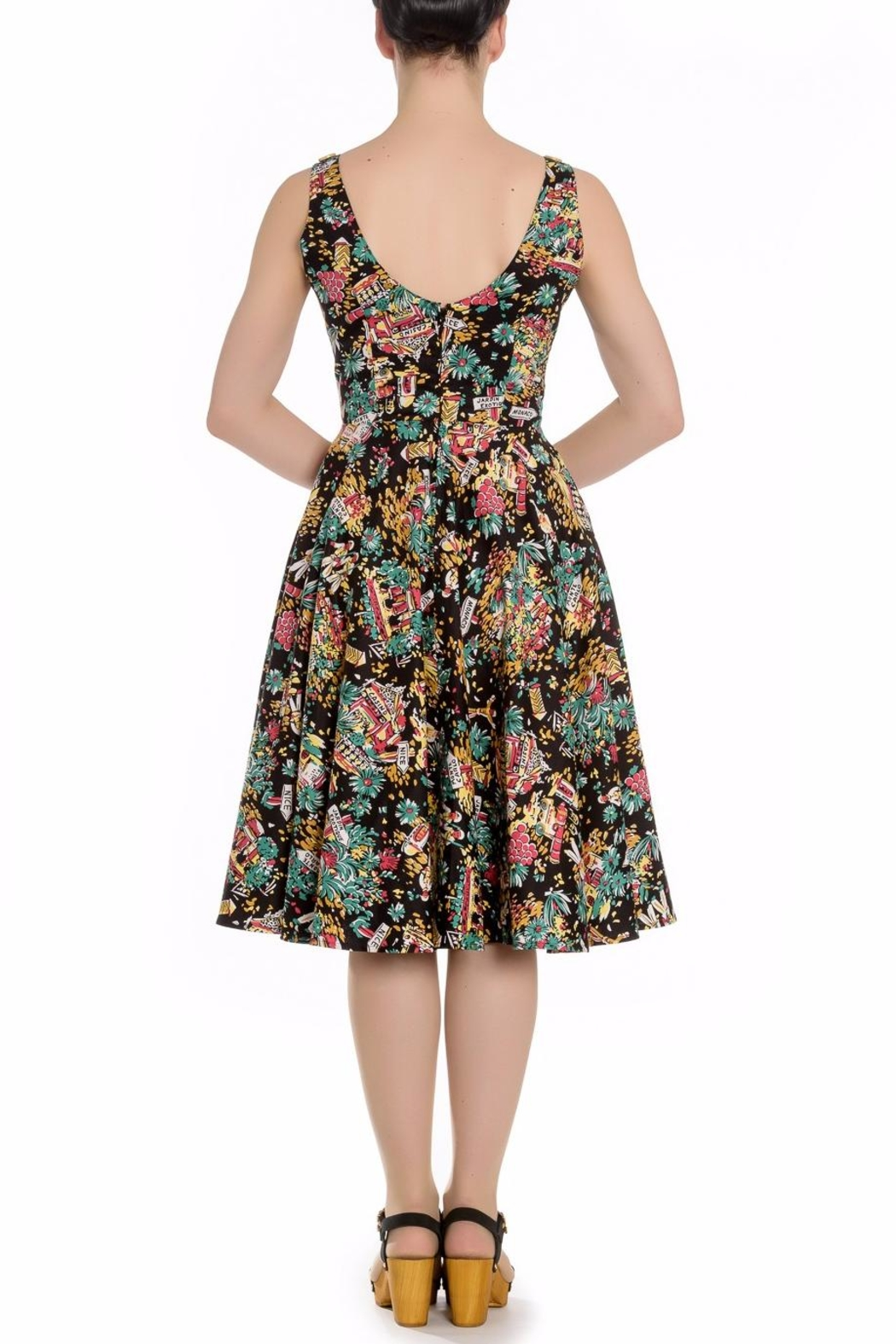 Hell Bunny Monte Carlo Dress - Front Full Image