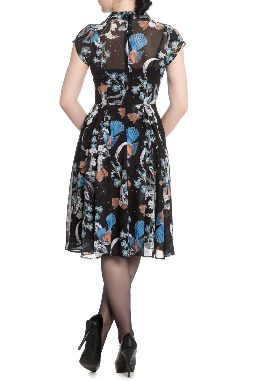 Hell Bunny Starry Night Dress - Front Full Image