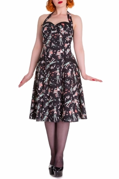 Hell Bunny Zombie Diner Dress - Product List Image