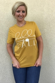 kissed Apparel Hello Fall graphic tee - Product Mini Image
