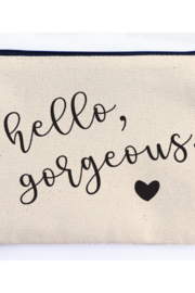 Ellembee Gift Hello Gorgeous Zipper Pouch - Product Mini Image