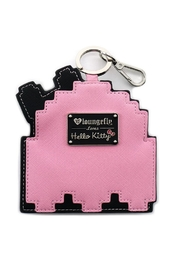Loungefly Hello-Kitty Pinky Coin-Pouch - Front full body