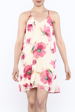 Shoptiques Product: Pink Floral Print Dress