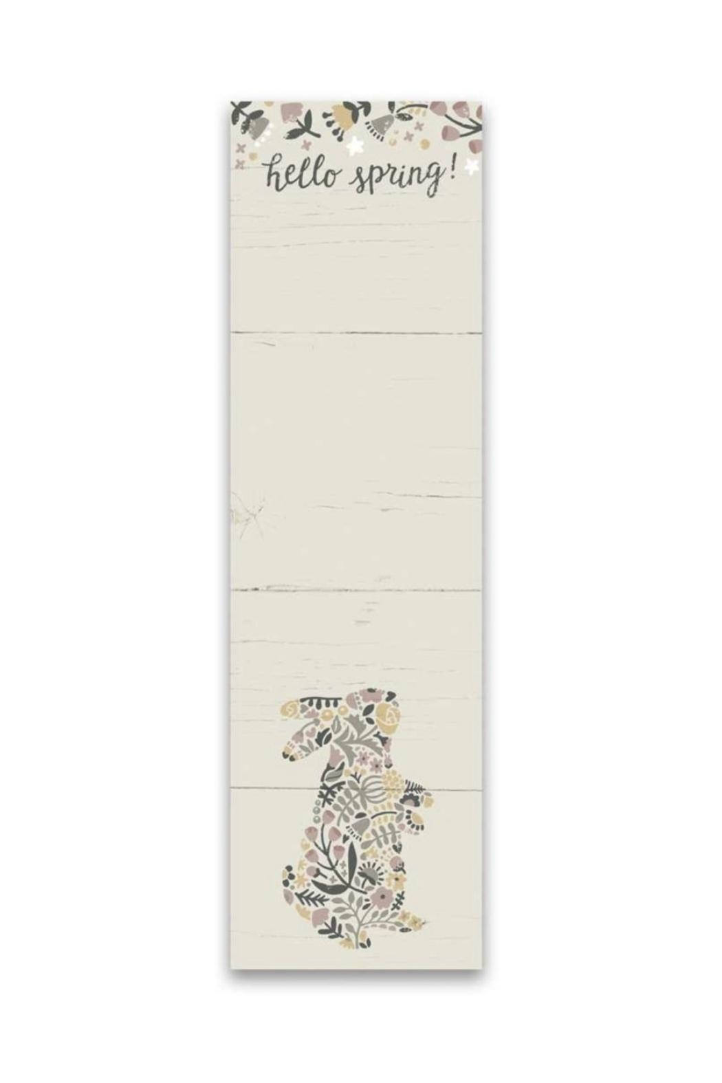 Primitives by Kathy Hello Spring Notepad - Main Image