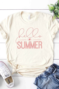 kissed Apparel Hello Summer - Alternate List Image