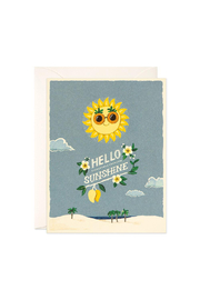 JooJoo Paper Hello Sunshine Card - Front cropped