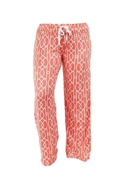 Hello Mello Hm Pants - Coral - Product Mini Image