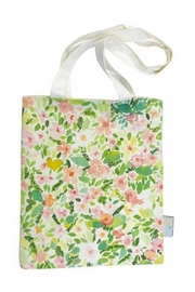 Hello Sunday Flower Field Totebag - Front cropped