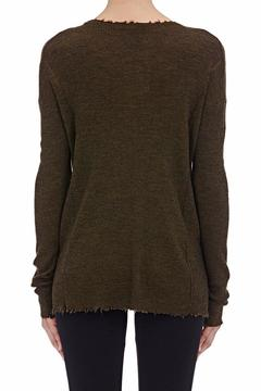 Shoptiques Product: Frayed Wool Sweater