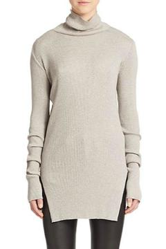 Shoptiques Product: Ribbed Turtleneck Sweater