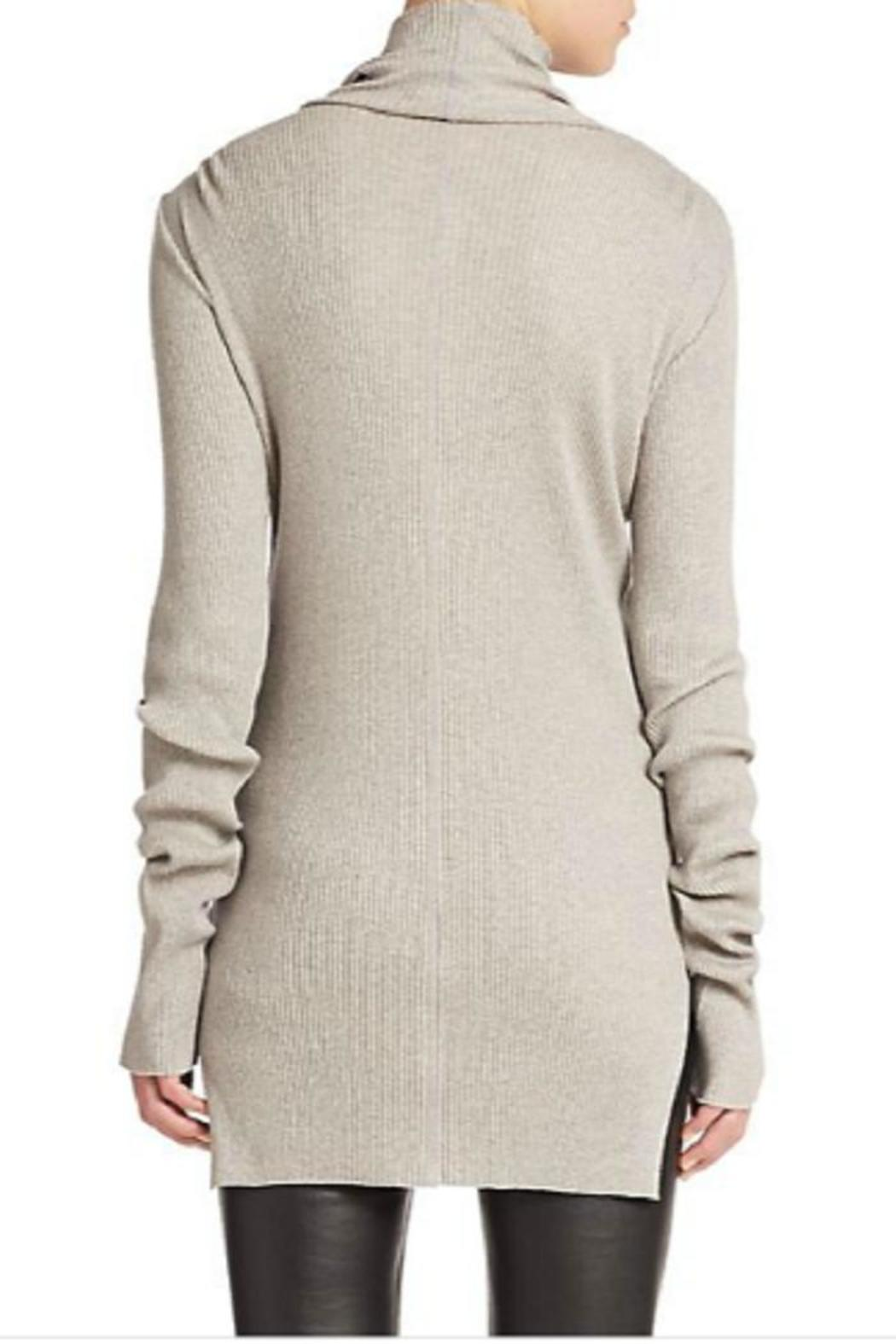 Helmut Lang Ribbed Turtleneck Sweater from Canada by Black Caviar ...