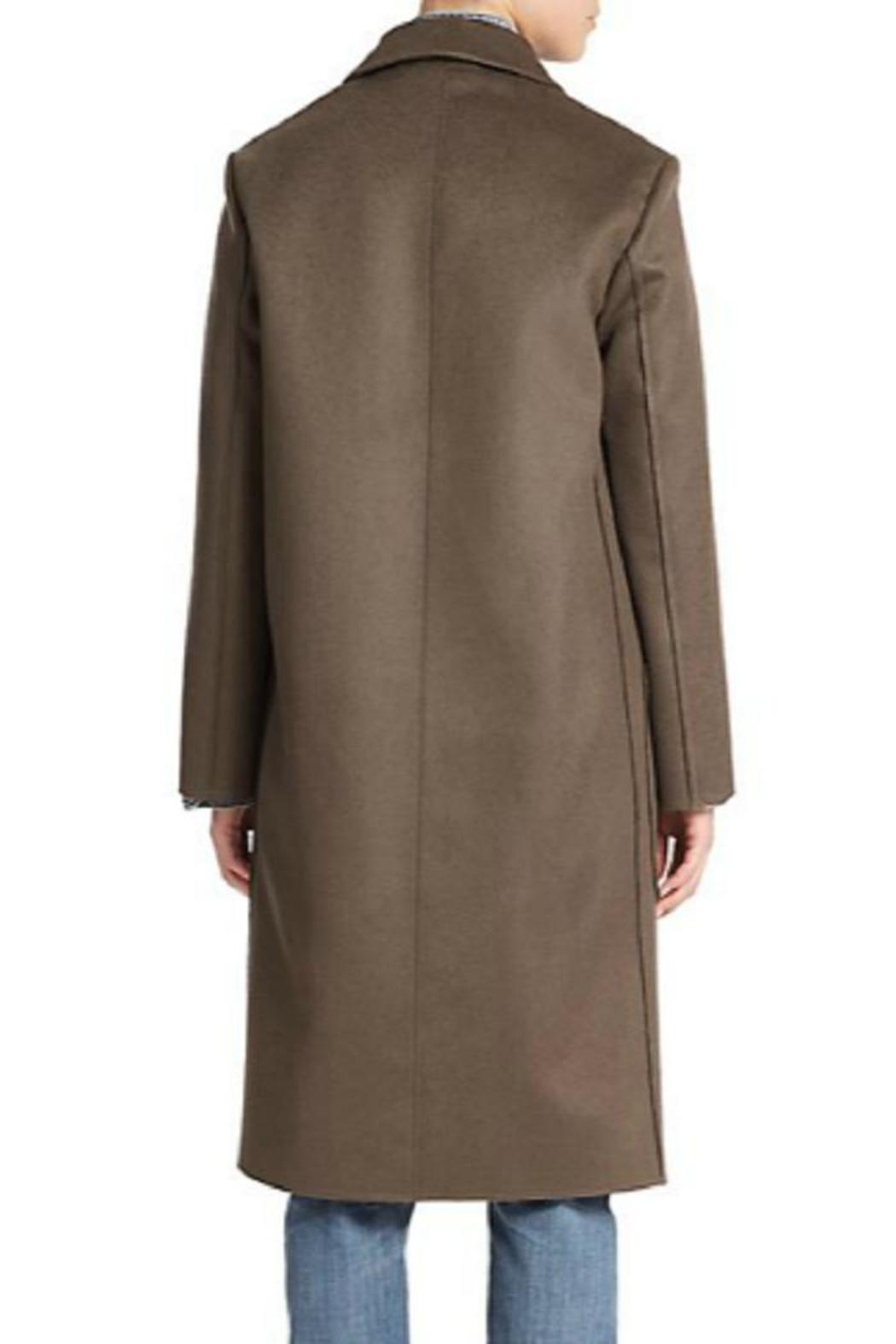Helmut Lang Wool Cashmere Coat - Side Cropped Image