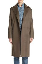 Helmut Lang Wool Cashmere Coat - Front full body