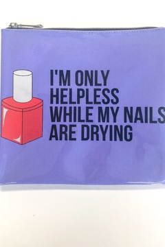 Breakups to Makeup Helpless Nails Jelly Clutch - Product List Image