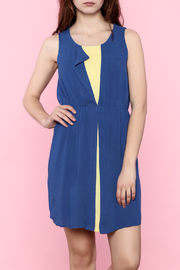 Hem & Thread Blue Spring Dress - Product Mini Image