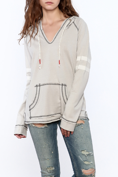Shoptiques Product: Grey Football Sweatshirt