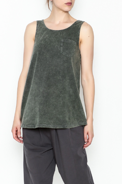 Shoptiques Product: Grey Pocket Tank