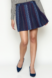 Hem & Thread Pattern Skirt - Front cropped
