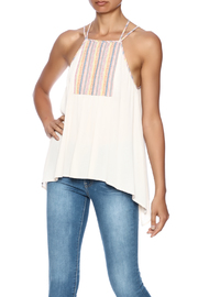Hem & Thread Sleeveless Halter Top - Product Mini Image