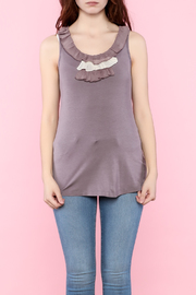 Shoptiques Product: Spring Ruffle Tank Top - Front full body