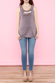 Shoptiques Product: Spring Ruffle Tank Top - Other
