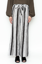 Hem & Thread Striped Pants - Side cropped