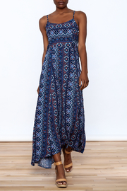Hem & Thread Blue Boho Cindy Dress - Product Mini Image