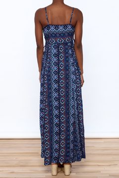 Hem & Thread Blue Boho Cindy Dress - Alternate List Image