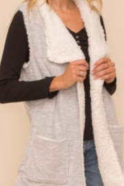 Hem and Thread TN  Sherpa Vest - Front cropped