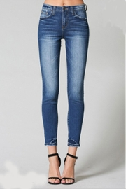 Flying Monkey Hem-Tacking Ankle Skinny-Jean - Product Mini Image