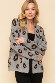 Hem & Thread Animal Open Cardigan - Product Mini Image