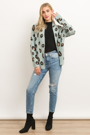 Hem & Thread Animal Print Cardigan - Other