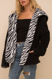 Hem & Thread Animal Print Fleece - Product Mini Image