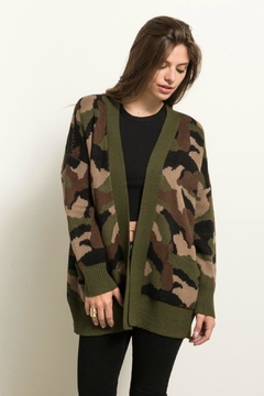 Shoptiques Product: Army Cardigan