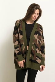 Hem & Thread Army Cardigan - Product Mini Image