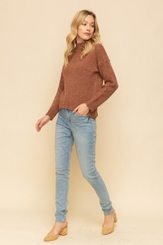 Hem & Thread Autumn Leaves Sweater - Front cropped