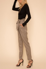 Hem & Thread Bagged Waist Trousers - Front cropped