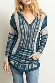 Hem & Thread Baha Hoodie Sweater - Product Mini Image