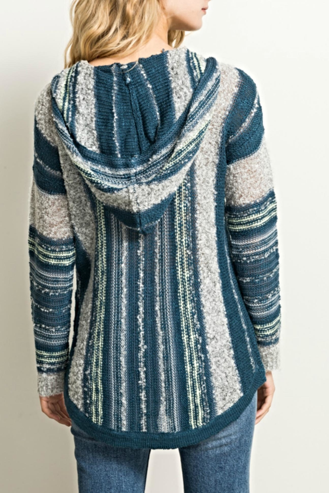 Hem & Thread Baha Hoodie Sweater - Front Full Image