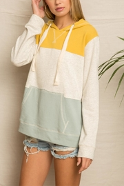 Hem & Thread Bannana Slug Hoodie - Front full body