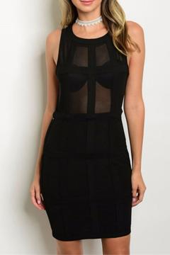 Shoptiques Product: Black Bodycon Dress