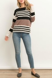 Hem & Thread Blossom Striped Sweater - Product Mini Image