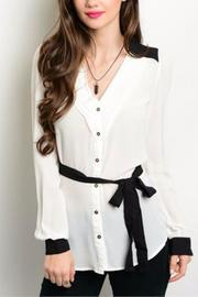 Hem & Thread Button Down Top - Front cropped