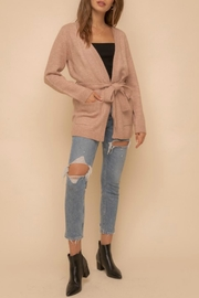Hem & Thread Camilla Belted Cardigan - Front cropped