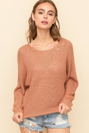 Hem & Thread Caught Up Sweater - Front full body