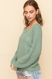 Hem & Thread Caught Up Sweater - Side cropped
