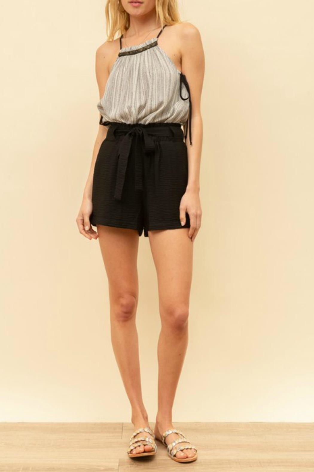 Hem & Thread Charlie Tie-Waist Shorts - Main Image