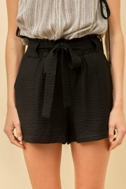 Hem & Thread Charlie Tie-Waist Shorts - Front full body