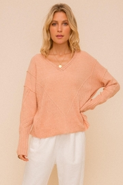 Hem & Thread Cozy Relaxed Sweater - Product Mini Image