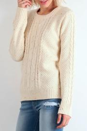 Hem & Thread Crew Melange Sweater - Product Mini Image